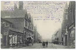 CPA Royaume Uni Angleterre Birmingham Rare Edgbaston Monument Road And Baths 1905. - Otros