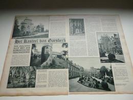 """Origineel Knipsel ( 3127 ) Uit Tijdschrift """" De Stad """" 1933 :  Kasteel Van Gaesbeek   Gaasbeek - Ohne Zuordnung"""