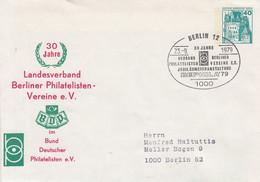 PU  70/2  30 Jahre Landesverband Berliner Philatelisten.Vereine E.V., Berlin 12 - Sobres Privados - Usados