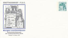 PU  70/6**  Ersttagsbrie - F.D.C. Burg Eltz Burgen Und Schlösser Ersttag: 16. Februar 1977 - Sobres Privados - Nuevos
