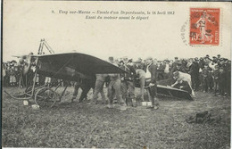 SEINE ET MARNE : Ussy Sur Marne, Escale D'un Deperdussin, Le.... - Andere Gemeenten