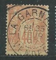 FRANCE N° 94 OB TB - 1876-1898 Sage (Type II)