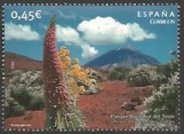 Spain - Nature Of Spain (part 3) - Echium Wildprettii, MINT, 2010 - Sonstige