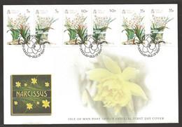 Isle Of Man - Narcissus Flower, FDC, 2011 - Sonstige