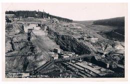 CPA/CPSM : Barrage D' Eupen - Vue D'ensemble Des Travaux Du Barrage - Eupen
