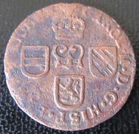 Pays-Bas Espagnols / Duché De Brabant - Monnaie Liard Charles II D'Espagne 1691 - [ 1] …-1795 : Vereinigte Provinzen