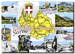 CPSM Savoie Chef Lieu Chambery Sous Pref Albertville St Jean De Maurienne Patrie De L'acteur Et Mett - Andere Gemeenten