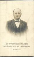 Faire Part Décès -Mr Henri-Joseph Renard Né à Steinbach  Décédé à Baclain Le 8/03/1942 à L' Age De 94 Ans - Todesanzeige