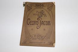 Horlogerie - Catalogue De Prix Pour Les Pièces Georg Jacob - 1904 - 592 Pages - Leipzig - Catalogues