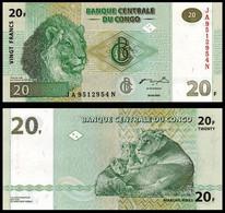CONGO - 94A - 20f (20 Francs) - 2003 - Sin Clasificación