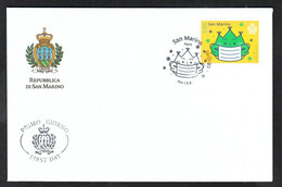 FDC: San Marino 2020 COVID -19 Stamp - Enfermedades
