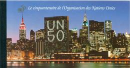 Nations Unies Genève 1995 - Y & T Carnet N. C293 -  50e Anniversaire Des Nations Unies (Michel N. MH-01) - Markenheftchen