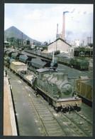 """Carte-Photo Moderne """"Manoeuvres De Trains Aux Mines De Hénin-Liétard - Années 50 - Hénin-Beaumont"""" - Henin-Beaumont"""