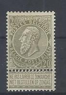 Nr 59 * (plakker) - 1893-1900 Thin Beard