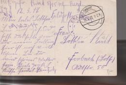 Enveloppe  De Kowna Par Reimerswiller, Betschdorf - WW I