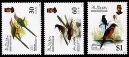 (014) Brunei  Animals / Birds / Oiseaux / Vögel / Vogels  ** / Mnh  Michel 465-467 - Brunei (1984-...)