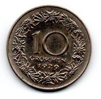 Autriche -  10 Groschen 1929 - TTB - Austria