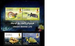 (078+90) Brunei  Animals / Marine Life / Vie / Animaux / Joint Issue Malaysia  ** / Mnh  Michel 671-72 + BL 32 - Brunei (1984-...)