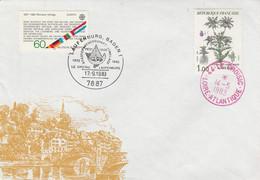 JUMELAGE LAUFENBURG-LE CROISIC 1983 - Gedenkstempels