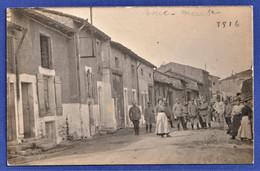 CARTE-PHOTO 54 BOUCQ (?) - 22 Mai 1916 - Civils Et Militaires - Sonstige Gemeinden