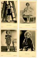 8x Ansichtskarte Shirley Temple, Ross Verlag, Ca. 1937/38 - Actores