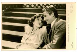 Postkarte Conchita Montenegro E Amedeo Nazzari, Ca. 1937/38 - Actors