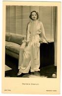 Postkarte Marlene Dietrich, Ross Verlag, Ca. 1937/38 - Actors