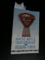 Native Arts & Craftsmanship In Belgian Congo (1934) PJ. M. Jadot - G D Périer - Art