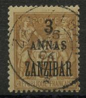 Zanzibar (1896) N 25 (o) - Gebruikt