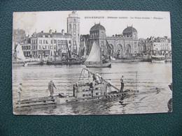 Cpa 1908 DUNKERQUE Défense Mobile Le Sous Marin Phoque - Dunkerque