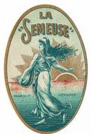 Ancienne étiquette Brasserie La Semeuse à Nolay 21 - Bière