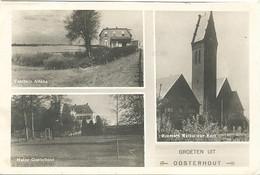 Oosterhout, Groeten Uit Oosterhout  (type Fotokaart) - Oosterhout