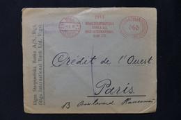 LETTONIE - Enveloppe Commerciale De Riga Pour La France En 1931, Affranchissement Mécanique - L 83278 - Latvia