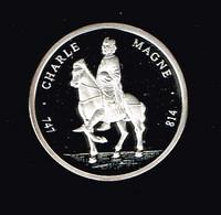 ECU 1992 Frankreich Charle Magne Silber 999 PP 8,50 Gramm  #münzen180 - Frankreich