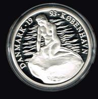 ECU 1993 Dänemark Meerjungfrau Schiff  Silber 999 PP 20 Gramm  #münzen181 - Dänemark