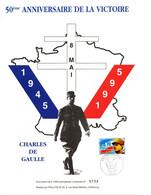 France 1995   YT 2944  Charles De Gaulle 50° Anniversaire De La Victoire - De Gaulle (General)