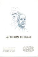 France 1977   YT 1941  Charles De Gaulle  5° Anniversaire Du Mémorial Colombey Les Deux Eglises - De Gaulle (Général)