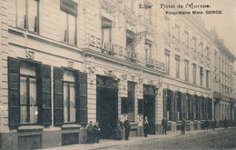 Lille Hotel De L'Europe Mme Gorge,propriétaire Rare TBE - Lille
