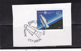 Azoren 1991 - Nr. 415 - Europa CEPT Weltraum   USED FDC Stamp - Azores