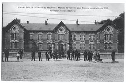 Charleville Ardennes Maison De Retraite Animée 1914 Très Bon état - Charleville