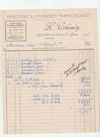 63-H.Cohendy..Minoterie à Cylindres Perfectionnés..Saint-Amant-Tallende..(Puy-de-Dôme)...1948 - Agricoltura