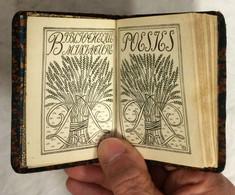 Livre Petit Format De Poèsies De J Du Bellay. Préface De F. Roger-Cornaz. éd Payot, Bibliothèque Miniature. Bon état. - Autori Francesi