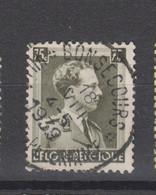 COB 427 Centraal Gestempeld Oblitération Centrale BONSECOURS - 1936-1957 Open Collar