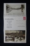 FRANCE - Carte Lettre De L 'Hôtel Carlton Du Touquet Pour Neuilly / Seine En 1937  - L 83317 - 1921-1960: Periodo Moderno