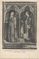 I4169 Assisi (Perugia) - Chiesa Inferiore Di San Francesco - Simone Martini - Santa Chiara E Elisabetta / Non Viaggiata - Other Cities
