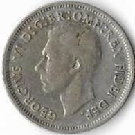 Australie  1 Shilling  Georges VI ,  1952 (m) Melbourne. Très Bel état - Shilling