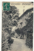 CPA  AVON - FONTAINEB  Hôtel Des Cascades , Propriétaire DECAILLY - Avon