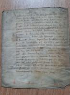 Acte Sur Parchemin 1616, Thibouville (27) - Manoscritti