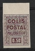 France Colis Postaux 165C** Non Dentelé Bord De Feuille Cote 450€. - Neufs