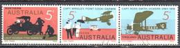 Australia 1969 - Flight From England To Australia - Mi.428-30 - Strip Of 3 - Used - Used Stamps